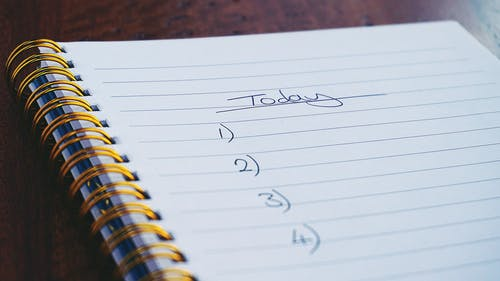 to-do lists weekly